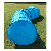 FurryFriends Pet Agility Tunnel, Outdoor Training and Exercise Equipment for Dogs, Puppies, Cats, Kittens, Ferrets, and Rabbits