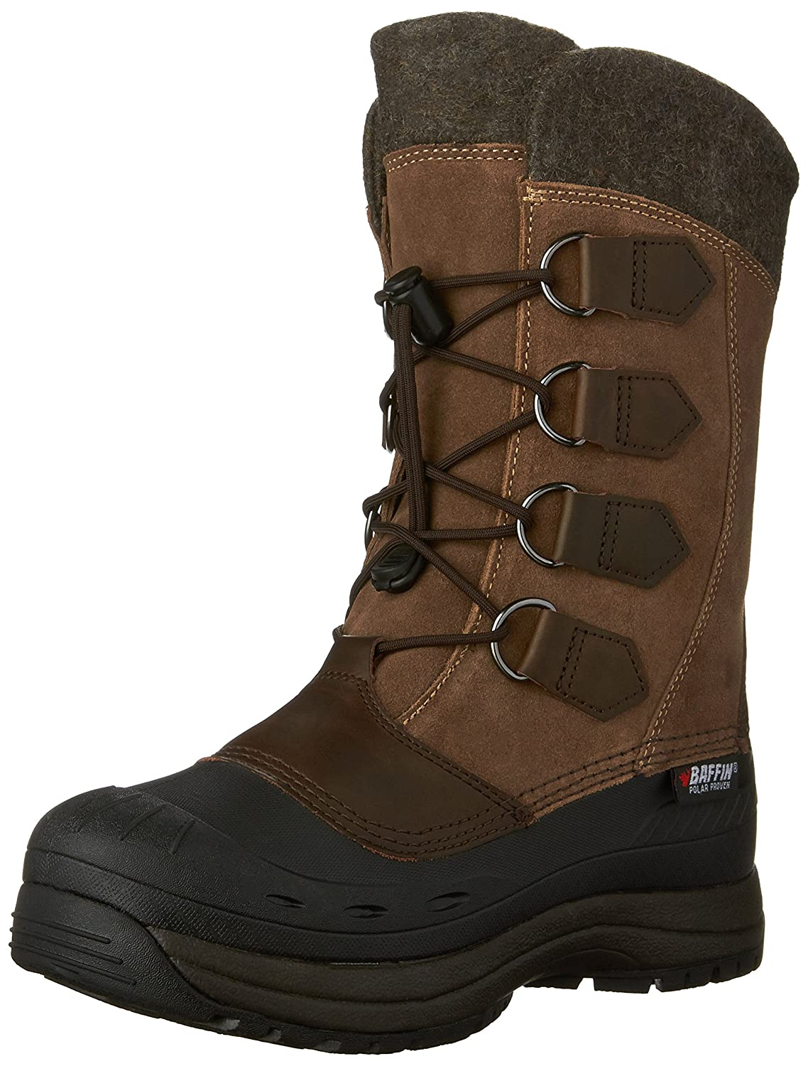 Brown Baffin Women's Kara-W-40-Degree C Boot, Removable Liner
