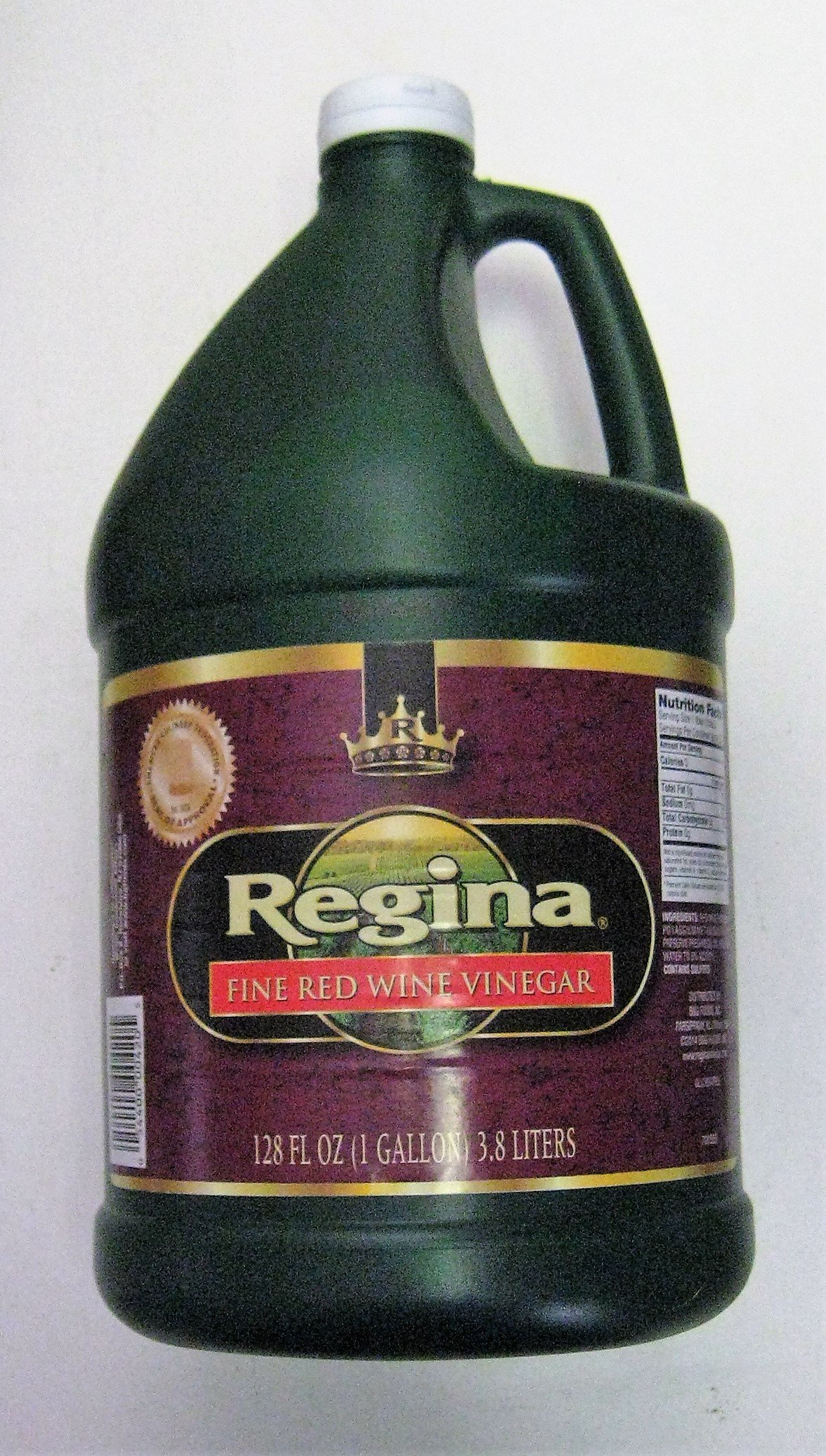 Regina Red Wine Vinegar, 128 Fluid Ounces ( 1 Gallon) by Regina