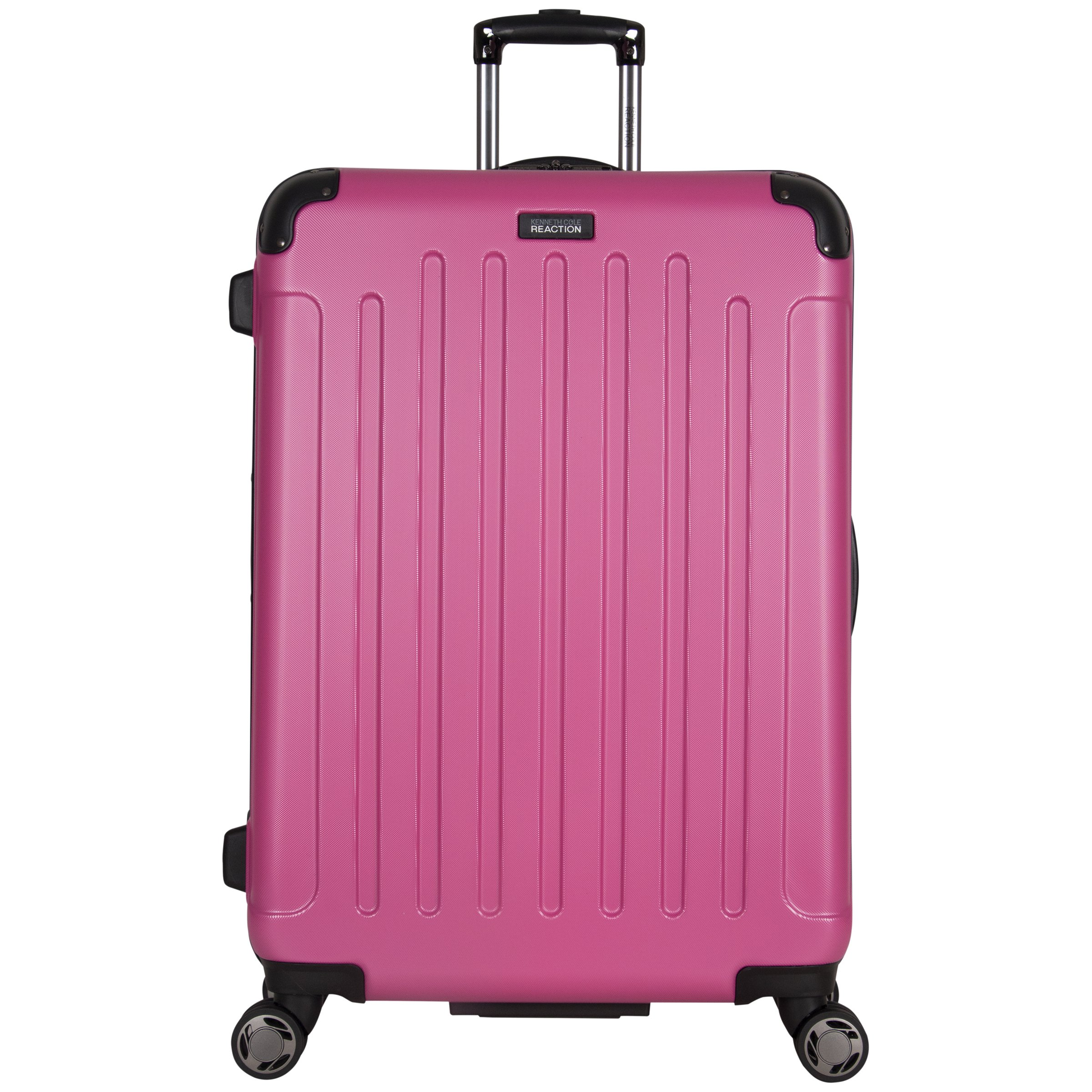 Kenneth Cole Reaction 28'' Abs 8-wheel Upright Suitcase, Magenta by Kenneth Cole REACTION