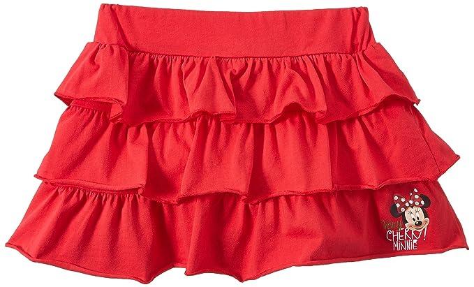 Minnie Jupe, Falda para Niñas, Rot - Rouge (Red) 4 años/104 ...