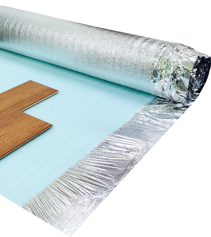 Self adhesive floor underlay floor matttroy for Floor underlay