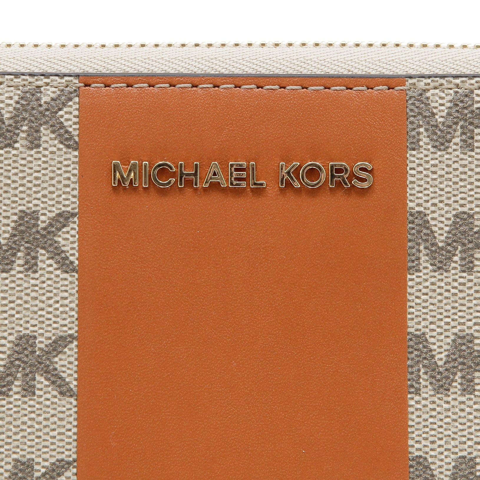 Michael Kors Studio Logo Print Continental Wallet by Michael Kors (Image #4)