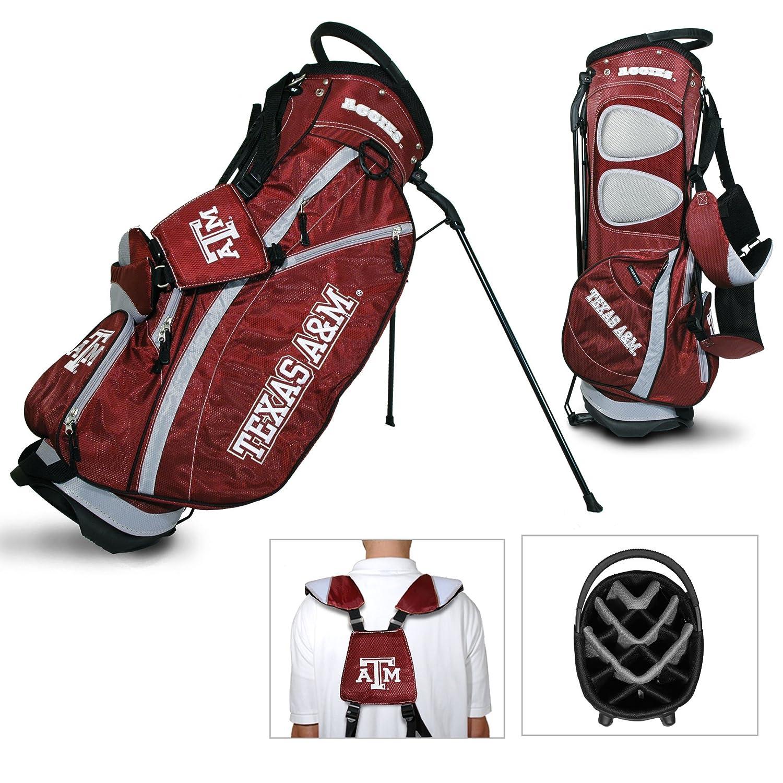 Texas A & M Aggiesチームゴルフフェアウェイウッド軽量14-wayトップゴルフクラブスタンドバッグ B01EZ8B164