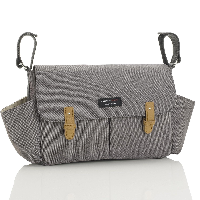 Storksak Stroller Organizer, Grey Bags that Work dba Storksak Sk8130