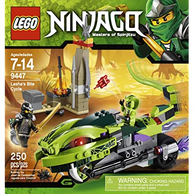 LEGO Ninjago 9447 Lasha's Bite Cycle: Toys & Games