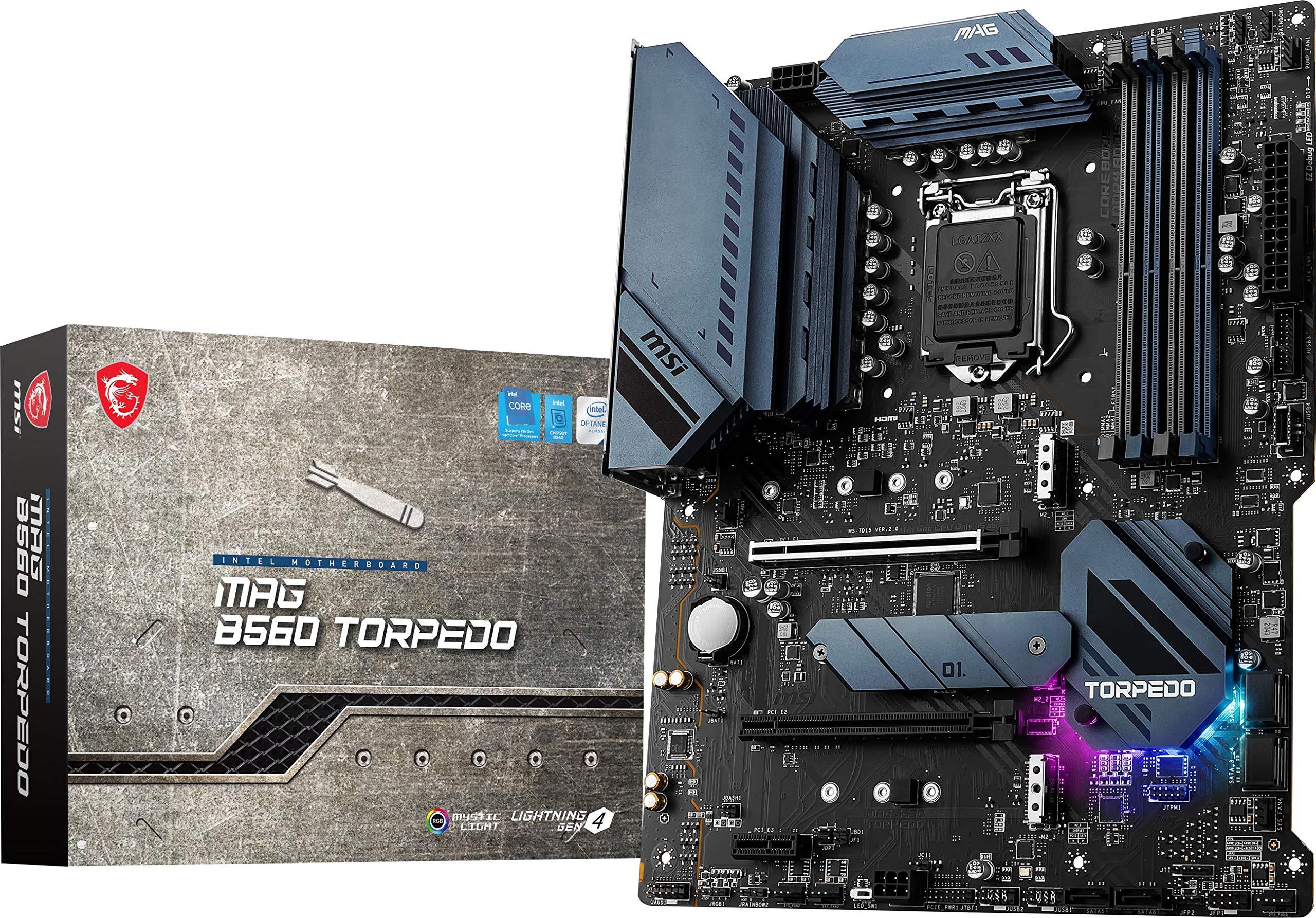 MAG B560 Torpedo (ATX, 11th/10th Gen Intel Core, LGA 1200 So