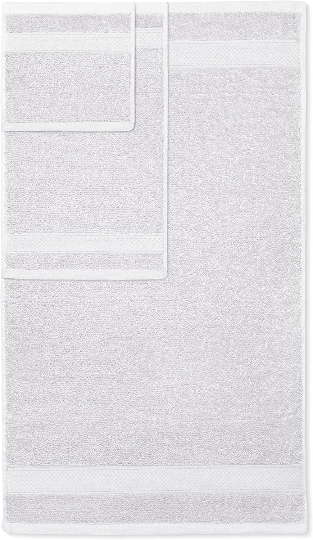 ; 2 Teli da Bagno Lavabile in Lavatrice 2 Asciugamani e 4 salviette Corallo Welhome 100/% Cotton 8 Piece tovagliolo