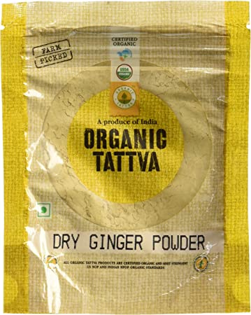 Organic Tattva Dry Ginger Powder, 50g