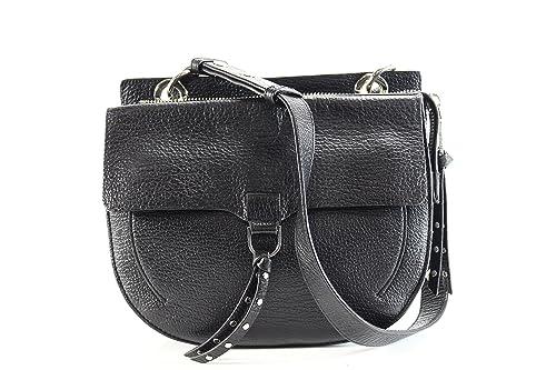 283154a5fe Amazon.com  Rebecca Minkoff Jane Saddle Crossbody BLACK  Shoes