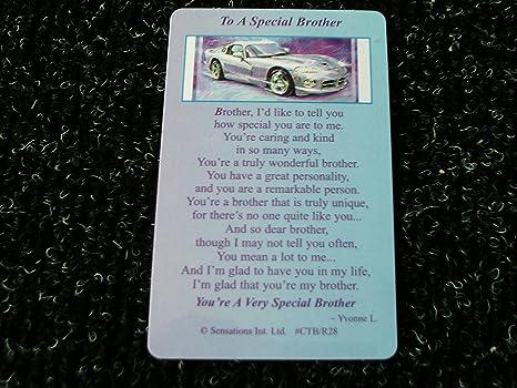 Amazon.com: To a Special Brother (Recuerdo Sentimental ...