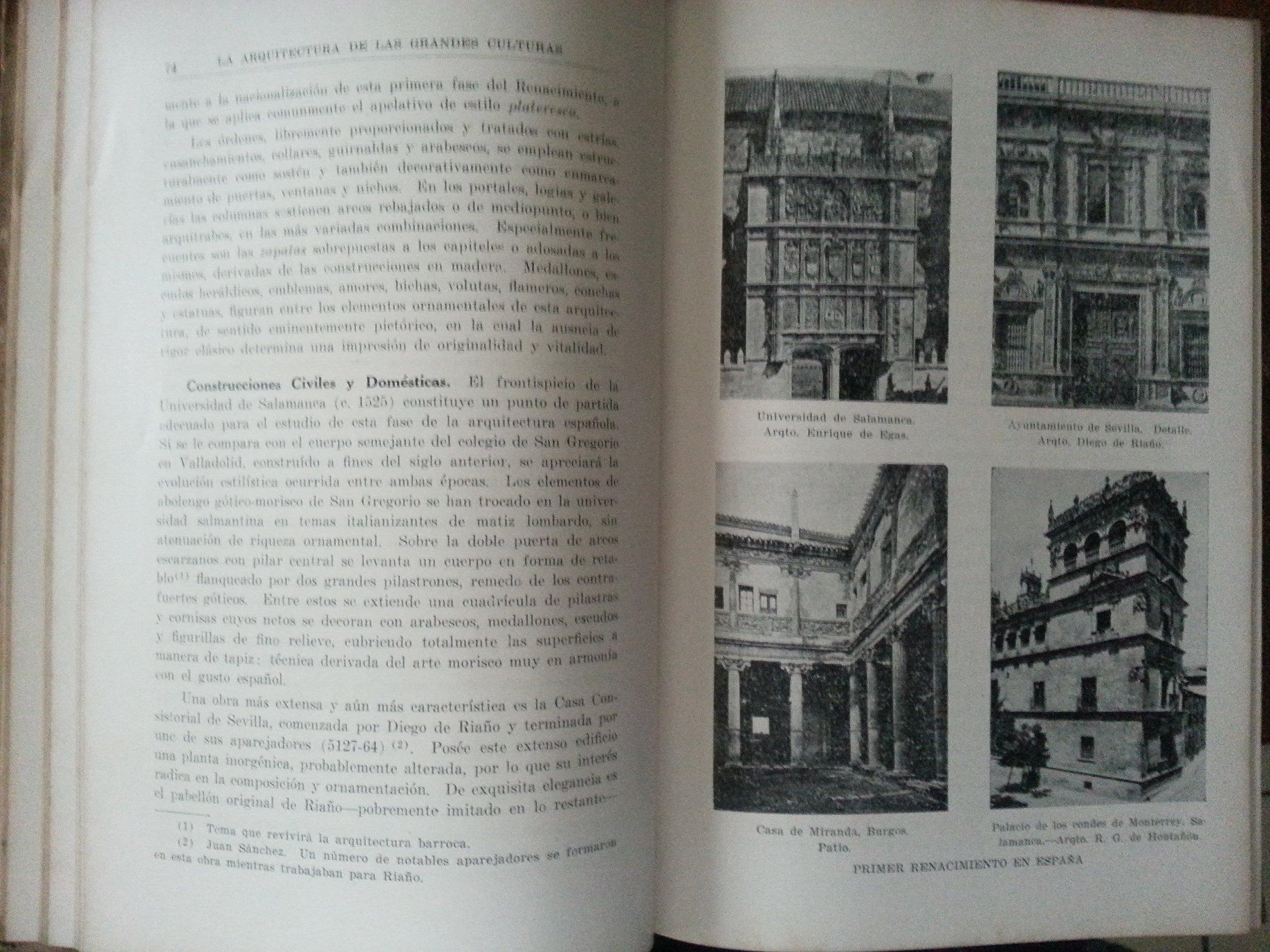 Amazon.com: La arquitectura de las grandes culturas.2 vols ...