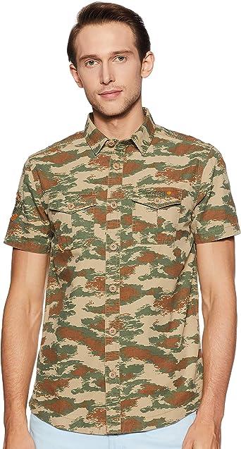 Superdry Camisa Rookie Parachute Camo Hombre: Amazon.es: Ropa y accesorios