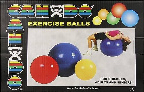 CanDo Super-Duty Ball, Red, 75 cm, 30 Inch