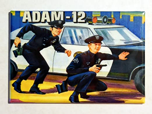 Amazon Com Adam 12 Lunchbox Vintage Art 2 X 3 Fridge Magnet Refrigerator Lunch Box Nostalgic Retro Kitchen Dining