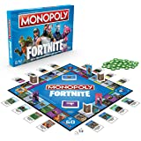 Monopoly E6603102 Fortnite Edition Board Game, Multi-Color by Hasbro Family Gaming