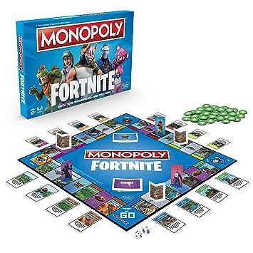 Monopoly E6603102 Fortnite Edition - Juego de Mesa