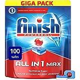 Finish Alles in einem max Reiniger regulär 100 Tabs