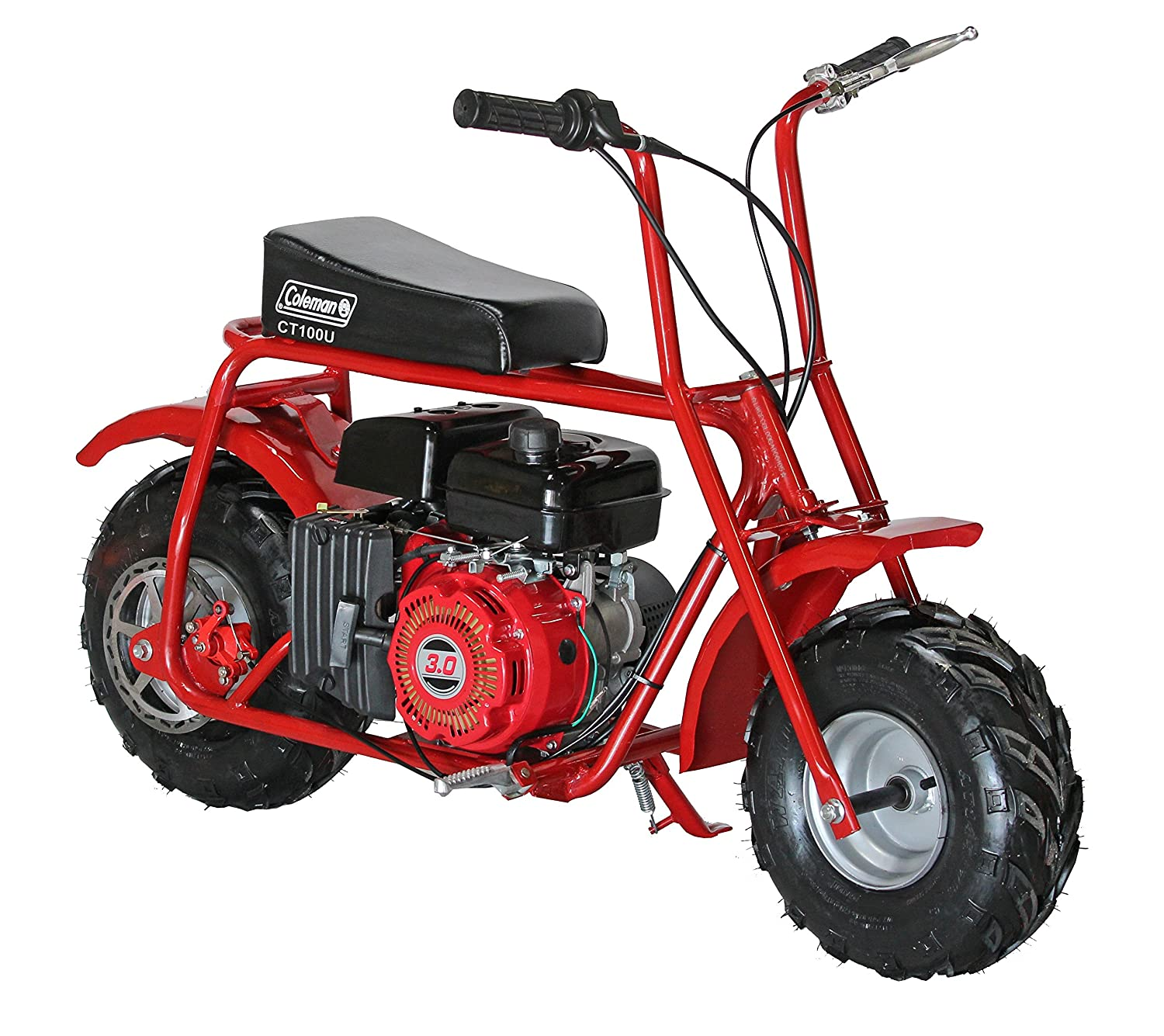 Coleman Powersports 98cc 3 0hp Ct100u Gas Powered Mini