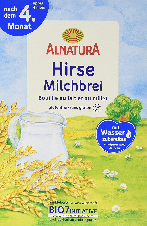 Alnatura Hirse-Milchbrei, 6er Pack (6 x 250 g) 180235-1