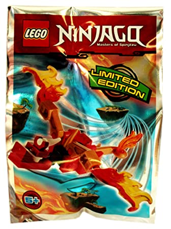 Lego Ninjago - Figura de dragón - Blue Ocean: Amazon.es ...