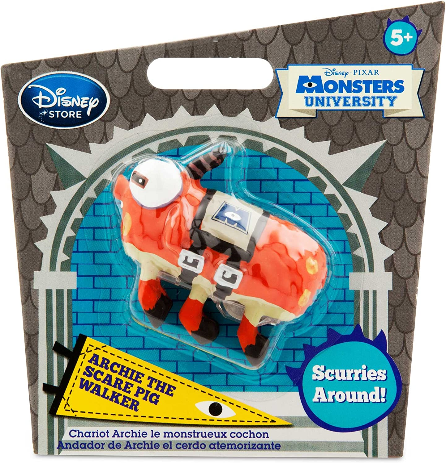 Monsters University Archie The Scare Pig Mini-Walker Toy
