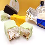 Soft Nougat (torroncini) Handmade by Sicilian Ancient Pastry-Shop in Assorted Flavours. Very Pretty 250 gr. Gift Box. RAREZZE: from Sicily, with Love and Passion!