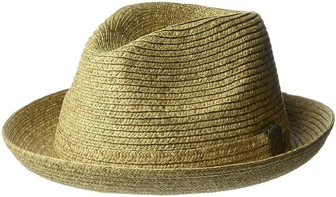 1b6cb8e6 Bailey of Hollywood Men's Frankie Braided Fedora Trilny Hat at Amazon Men's  Clothing store: