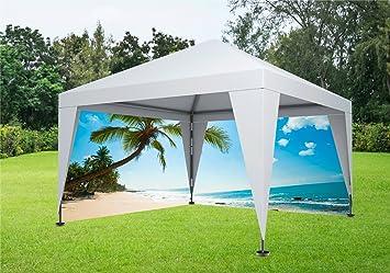 Paraíso Tropical vacaciones de playa pvc Antecedentes lateral para ...