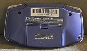 Game Boy Advance Console in Purple