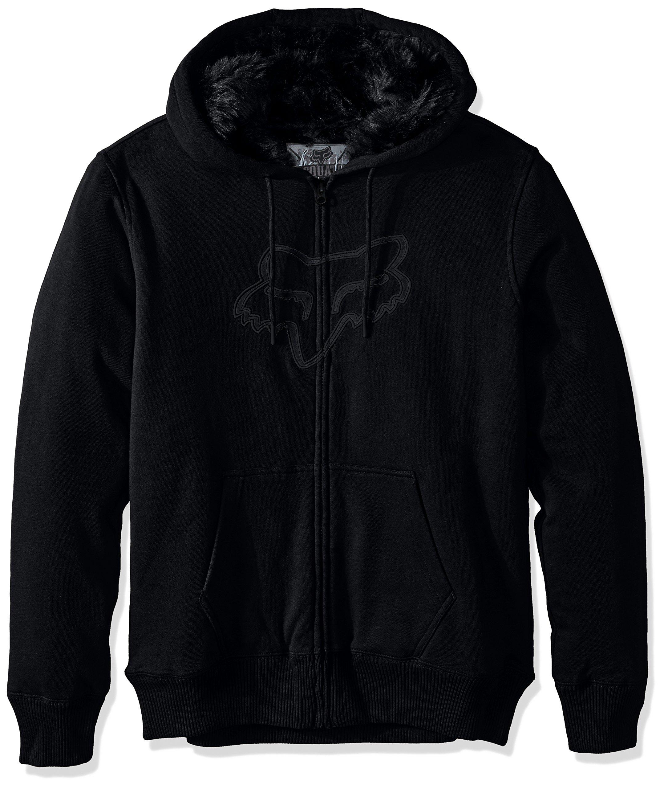 Fox Men's konstant Sasquatch Zip Fleece, Black, Medium