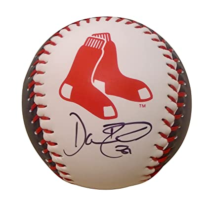 082e166b5 Image Unavailable. Image not available for. Color: Boston Red Sox Dave  Roberts Autographed Hand Signed Boston Redsox Logo Baseball with Proof ...