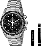 Omega Men's 31130423001006 Speedmaster Analog Display Mechanical Hand Wind Silver Watch