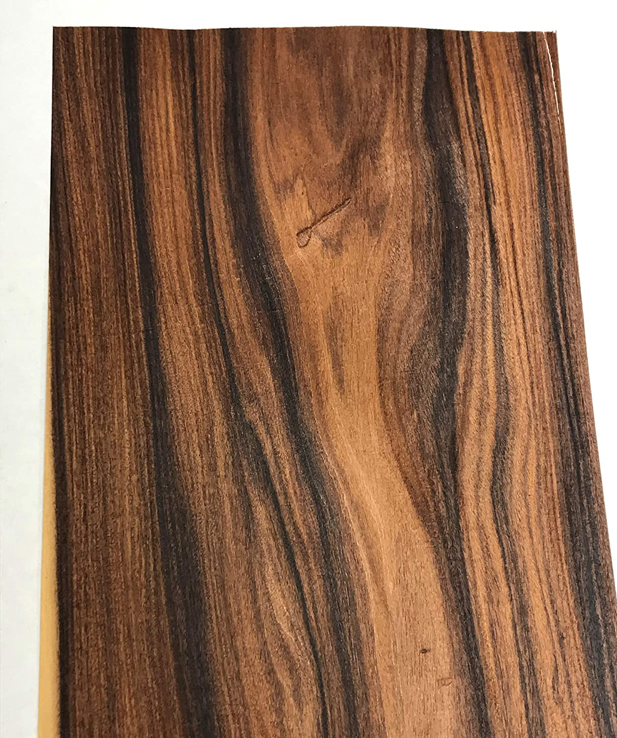 Santos Rosewood Raw Wood Veneer Sheets 9 x 45 inches 1//42nd Thick