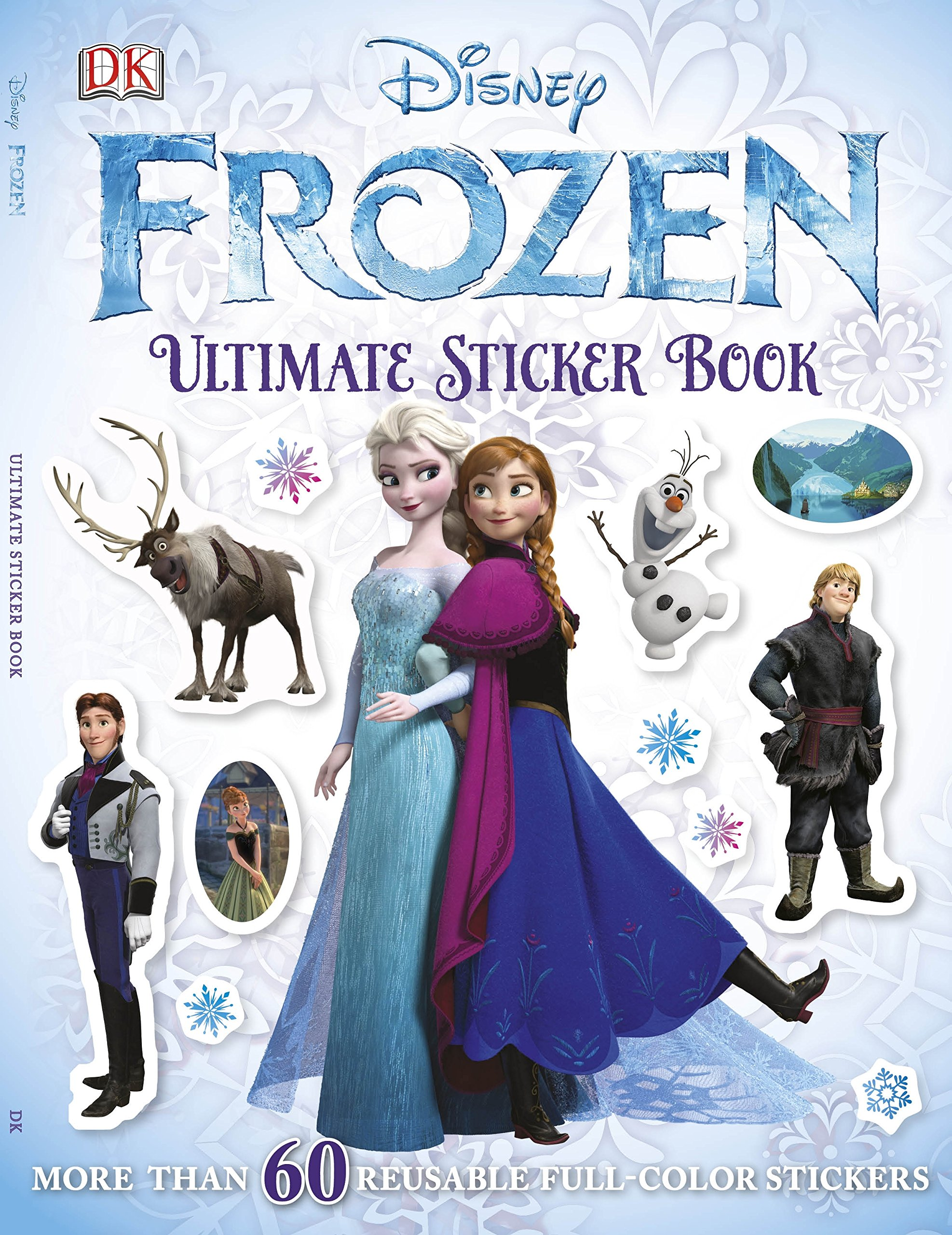 Ultimate Sticker Book Frozen Books DK Publishing 9781465414052 Amazon