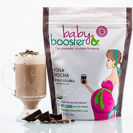 Prenatal Vitamin Supplement Shake - Baby Booster Kona Mocha - 1lb bag...