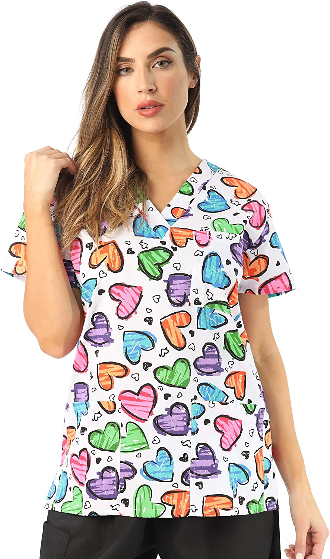 Just Love Women's Scrub Tops Scrubs Nursing Scrubs