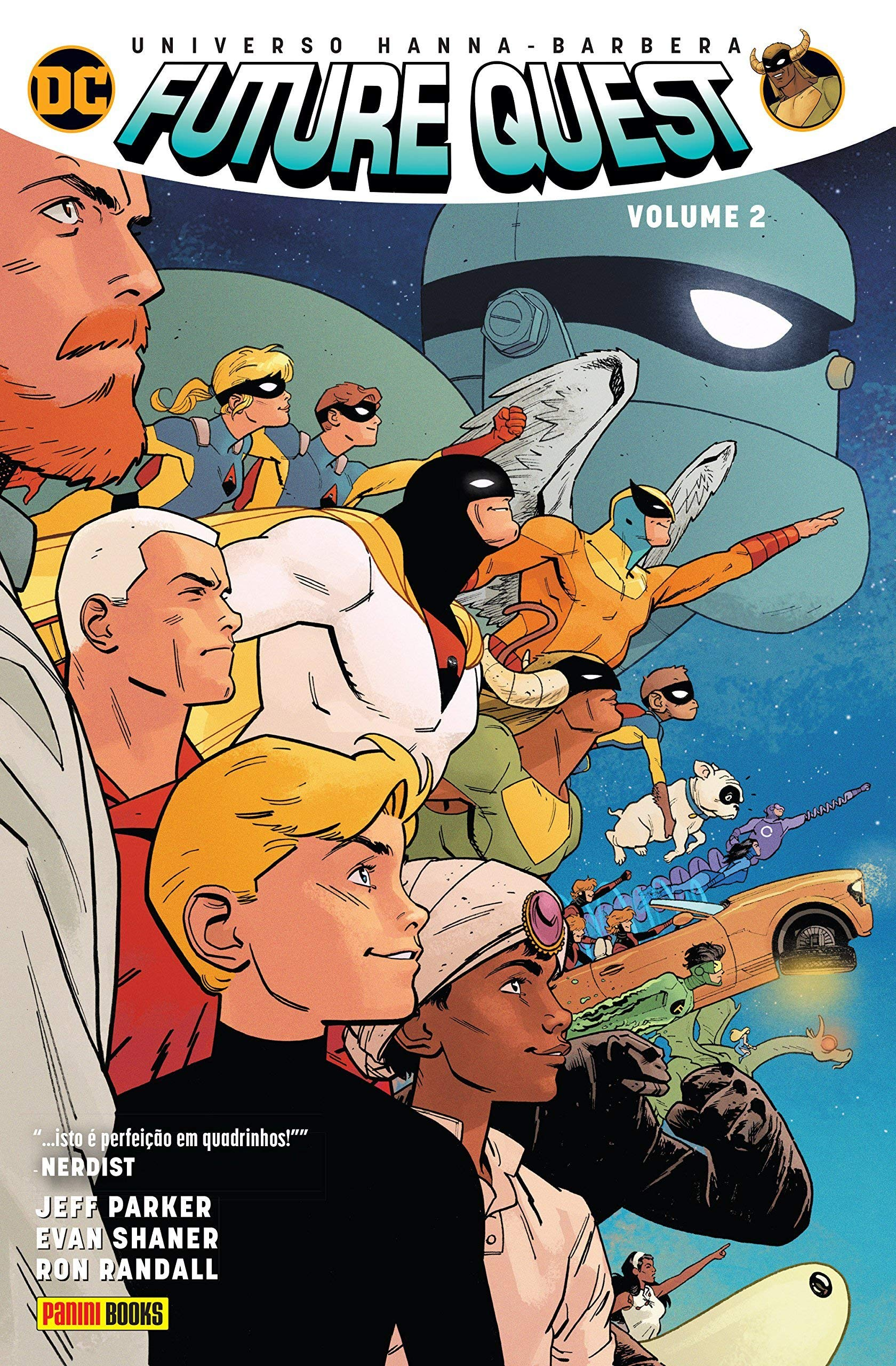 Future Quest Volume 2 Amazon Es Jeff Parker Libros