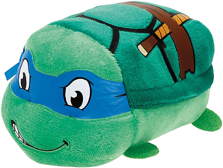 Ty - TY42173 - Teeny Tys-Teenage Mutant Ninja Turtles -Leonardo Soft Toy–8cm