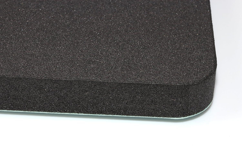 4er Set blupalu T/ürkantenschoner bietet optimalen Schutz und gute D/ämpfung Ihrer Fahrzeugt/üren vor Lacksch/äden an der Garagen oder Carportwand
