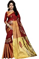Saree(Leriya Fashion Saree For Women Party Wear Half Multi Colour Printed Sarees Offer Designer Below 500 Rupees Latest Design Under 300 Combo Art Silk New Collection 2017 In Latest With Designer Blouse Beautiful For Women Party Wear Sadi Offer Sarees Collection Kanchipuram Bollywood Bhagalpuri Embroidered Free Size Georgette Sari Mirror Work Marriage Wear Replica Sarees Wedding Casual Design With Blouse Material