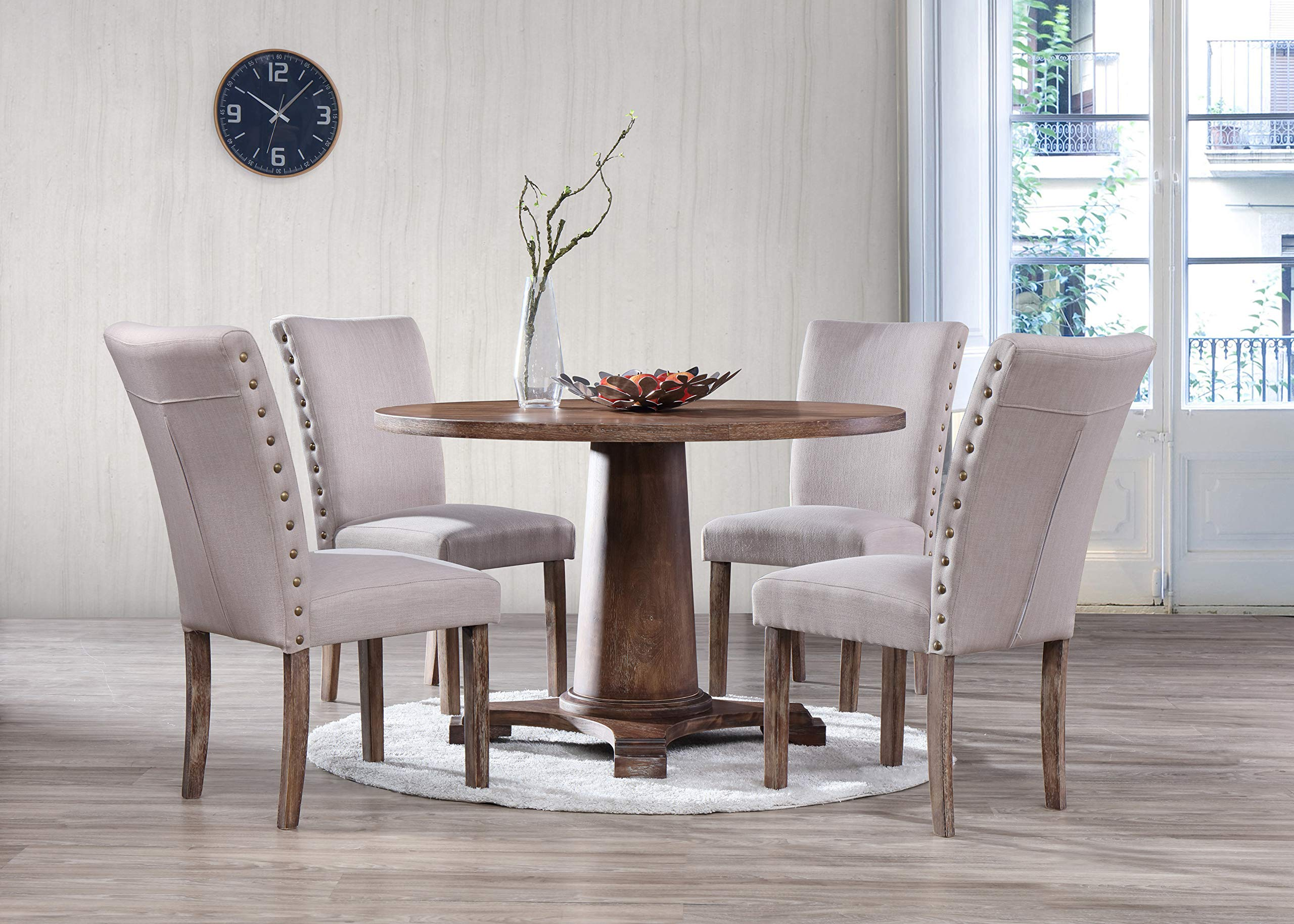 Best Master Furniture Carey 5 Pcs Dining Set by Best Master Furniture