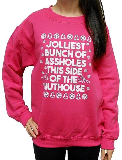 Amazoncom Jolliest Bunch Of Assholes Sweatshirt Clothing