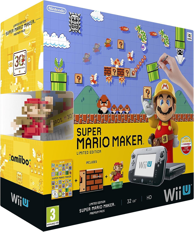 Wii U Premium Plus Super Mario Maker [Importación Inglesa]: Amazon.es: Videojuegos