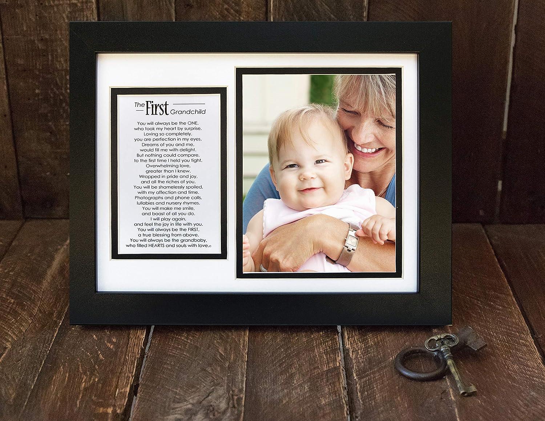 Amazon.com: The Grandparent Gift Co. First Grandchild Photo Frame ...