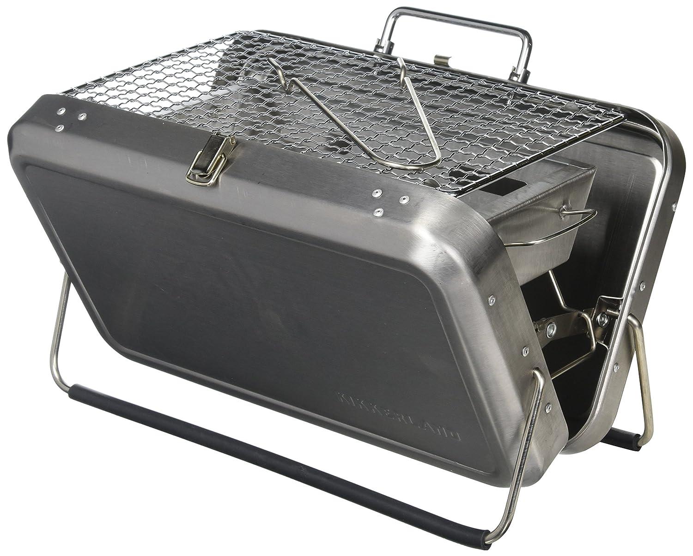 ブリーフケースバーベキュー Briefcase BBQ  Silver B00J2WZ6S8