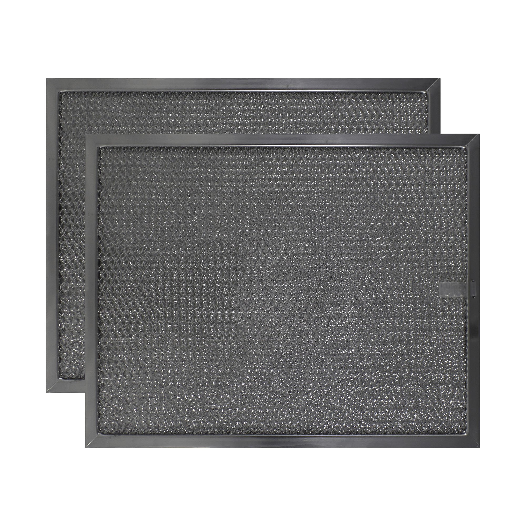 2 PACK Air Filter Factory 11 X 13-3/4 X 3/8 Range Hood Aluminum Grease Filters AFF162-M by Air Filter Factory