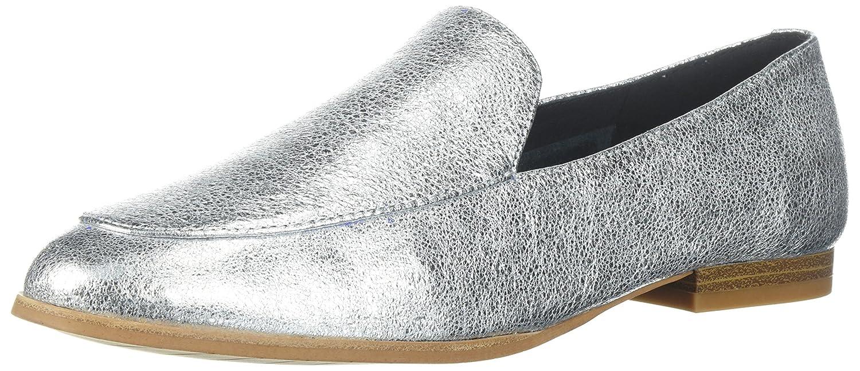 Kenneth Cole New York Wohommes Westley Slip on Loafer Flat, argent Metallic, 6
