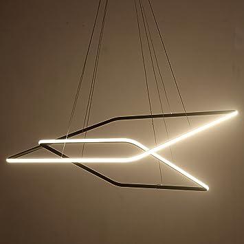 Lumière Moderne Réglable Mossi Exclusif Tania Double Luminaire Lustre Plafonnier Suspension Saint Carré Plafond Led Collection Contemporain Design TFcKl1J