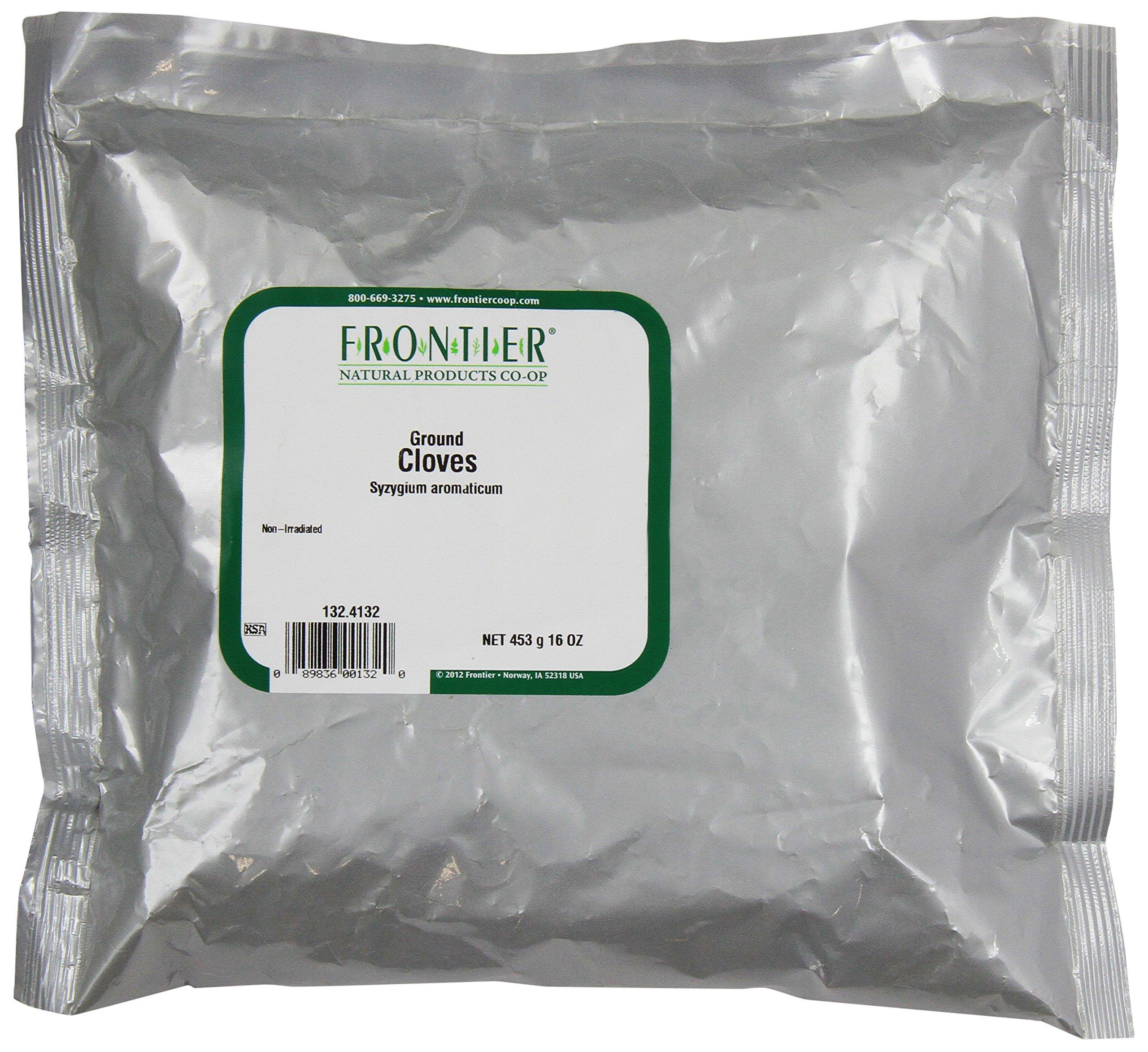 Frontier Cloves Powder, 16 Ounce Bag